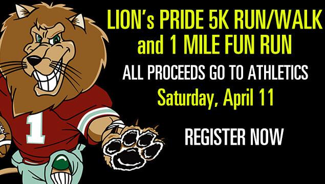 Lion's Pride 5K Run/Walk And 1 Mile Fun Run