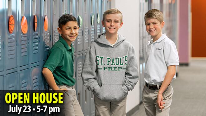 """Discover St. Paul's"" Enrollment Open House"