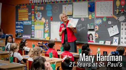 Mary Hardman - 21 Years at St. Paul